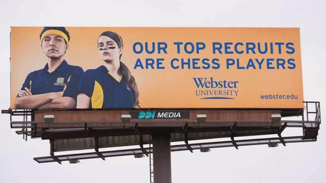 Big College Chess growth in America
