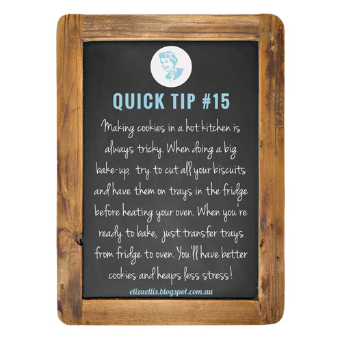 Quick Tip #15 from the Quick Tips Series by Eliza Ellis