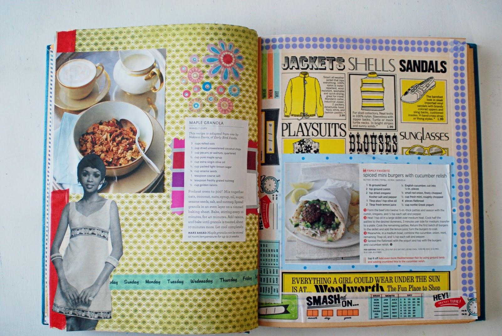 How to scrapbook a recipe book - How To Scrapbook A Recipe Book 14