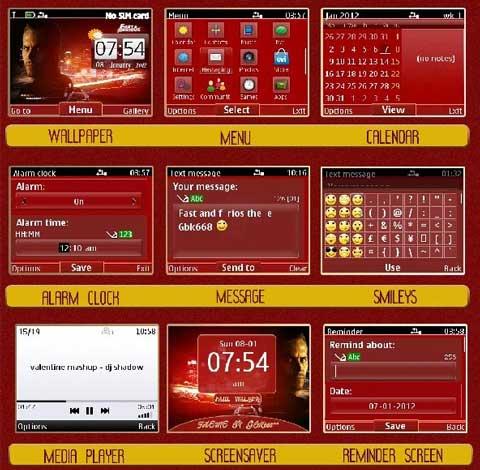 fast+and+furious+theme+for+Nokia+phones, Nokia+s40v6+theme, Symbian+320x240+theme