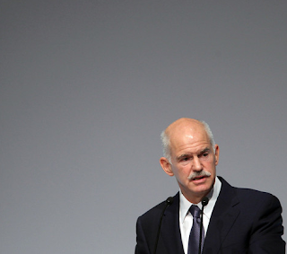 Greek Prime Minister Papandreou