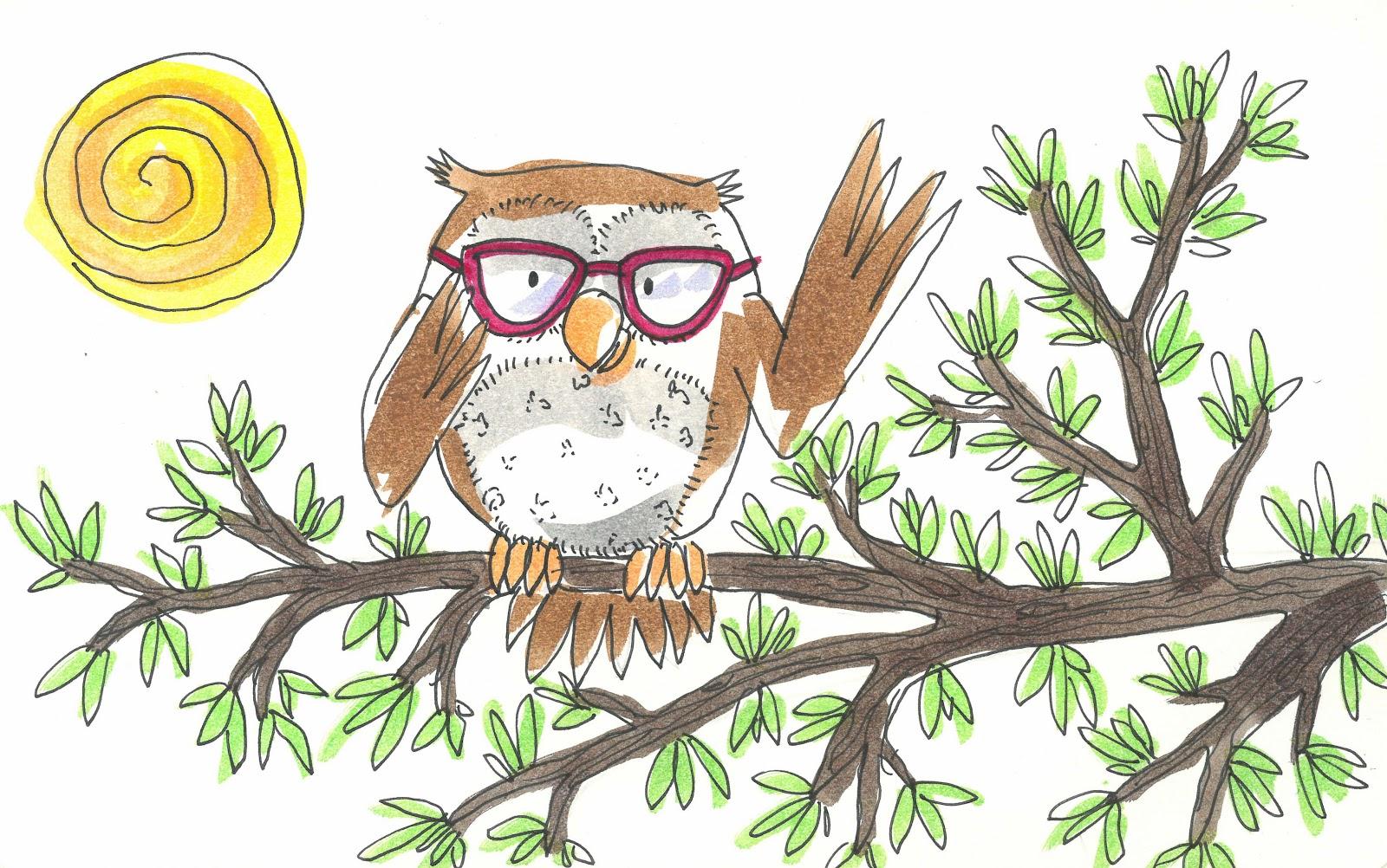 El búho con gafas   Cuentos infantiles cortos