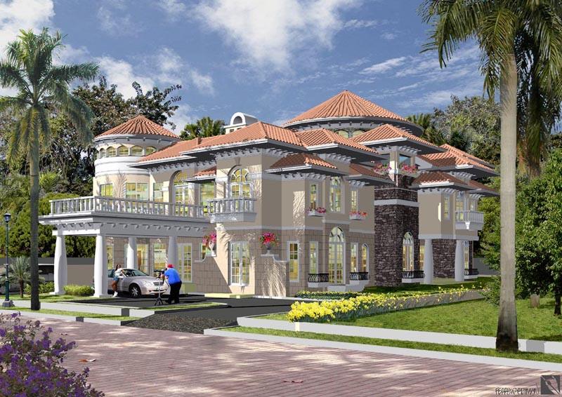 Bentuk Rumah Mewah