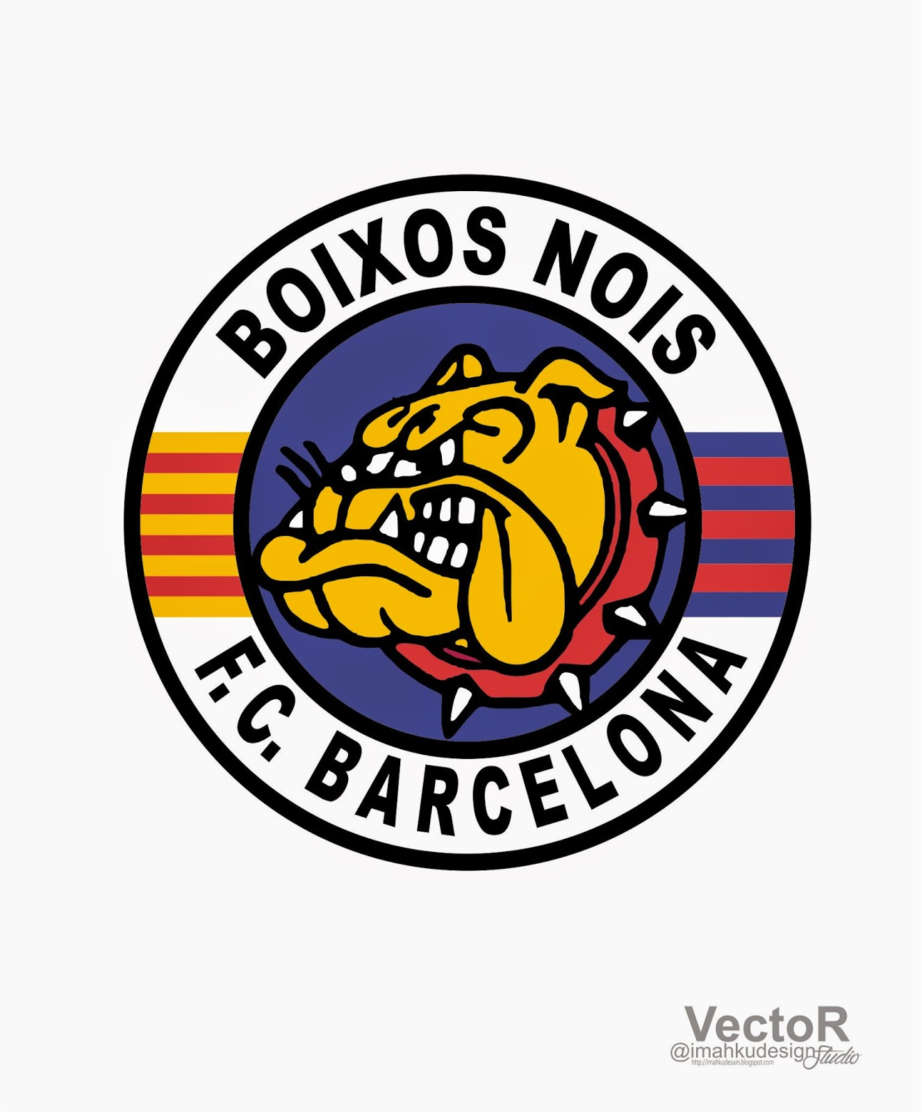 barcelona logo vector aiepscdr free download imahku