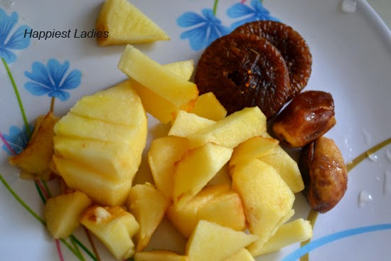 Apple Dry fruits Puree: Baby Food