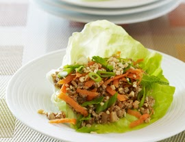 VeegMama's recipe for vegan lettuce wraps