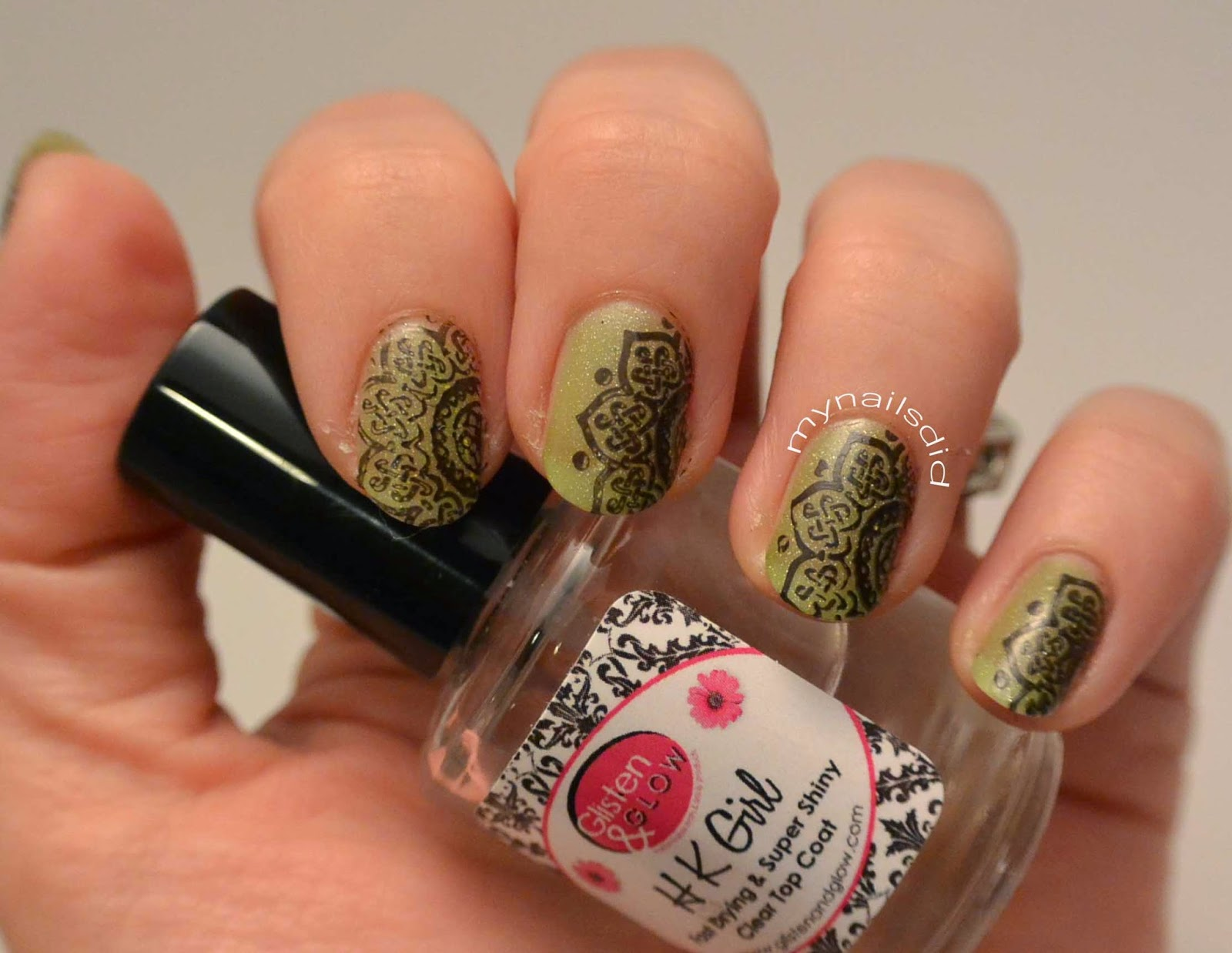 My Nails Did: Thermal Polish + MoYou Stamping Mani