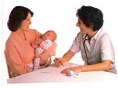 فحص عام للطفل الرضيع بعد بلوغة الإسبوع السادس، 1- تقدير عام