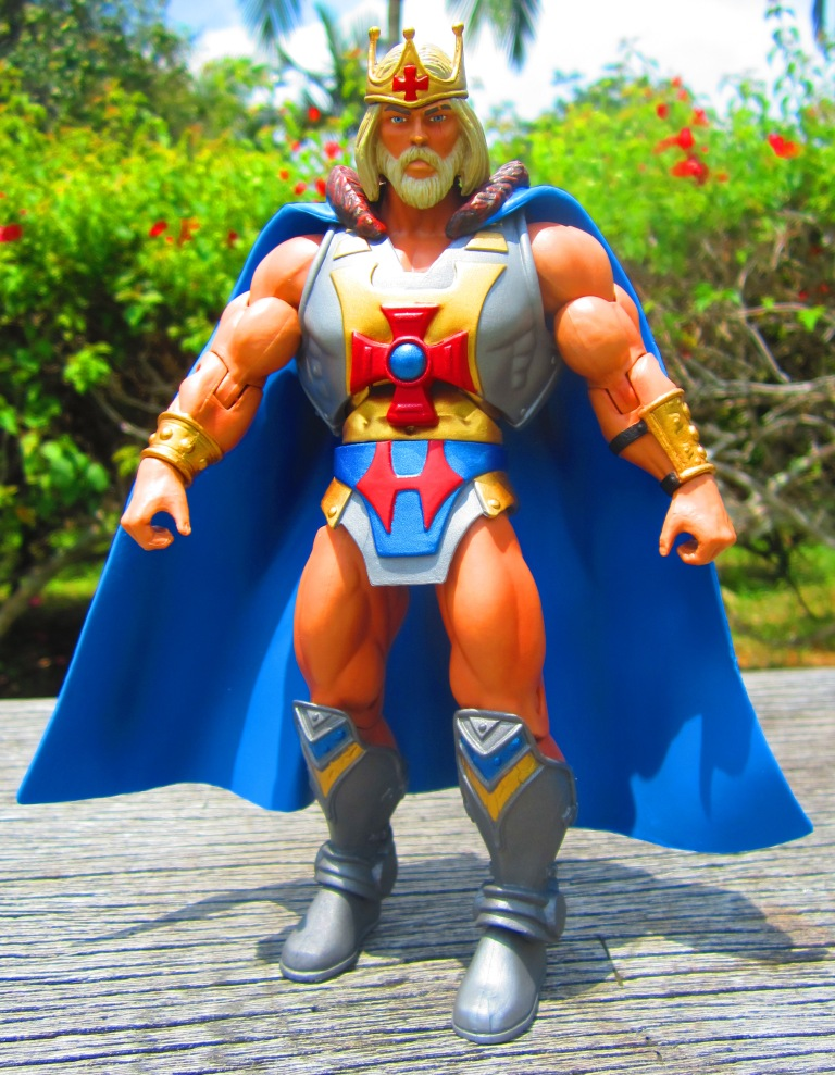 Heman Action Figure: Transformers And Other: MOTU Classics King He-man Action