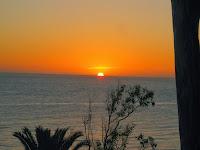 paisajes atardecer Atlantida Uruguay