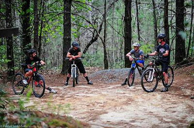 Riders From Sycamore Cycles Reflect on a Great Day of Mountain Bike Riding with Oskar Blues Brewery