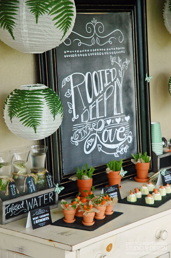 style it launch party rooted in love bridal shower