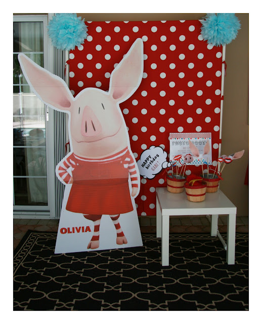 Olivia The Pig Birthday Party