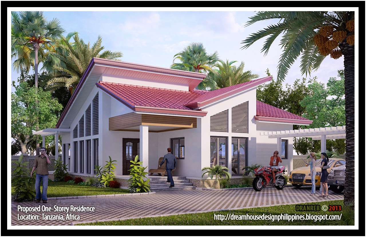 Small Modern House Design Philippines Medium Size Bungalow