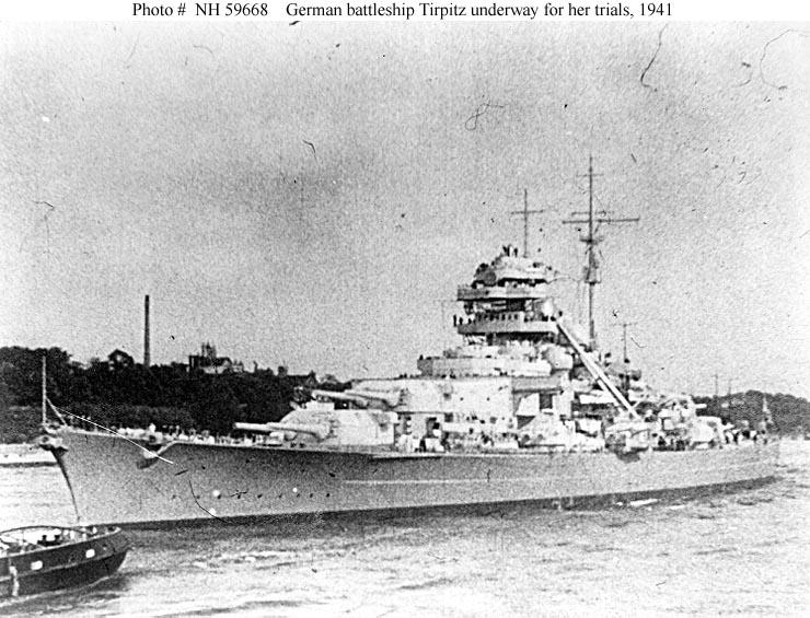 Tirpitz WW2