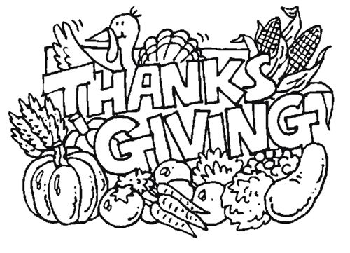 Best Thanksgiving Pictures To Color And Print For Free