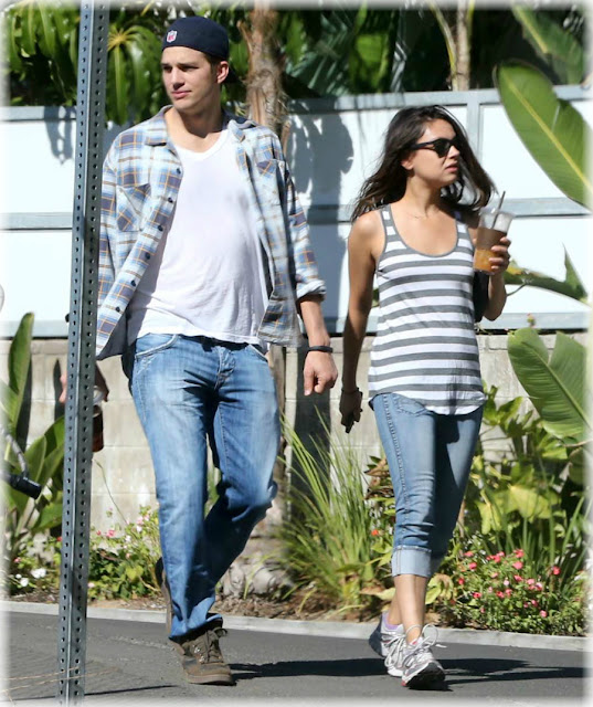 Mila Kunis embarazada de Ashton Kutcher