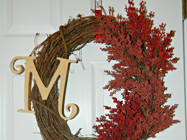 Easy Fall Wreath DIY Tutorial