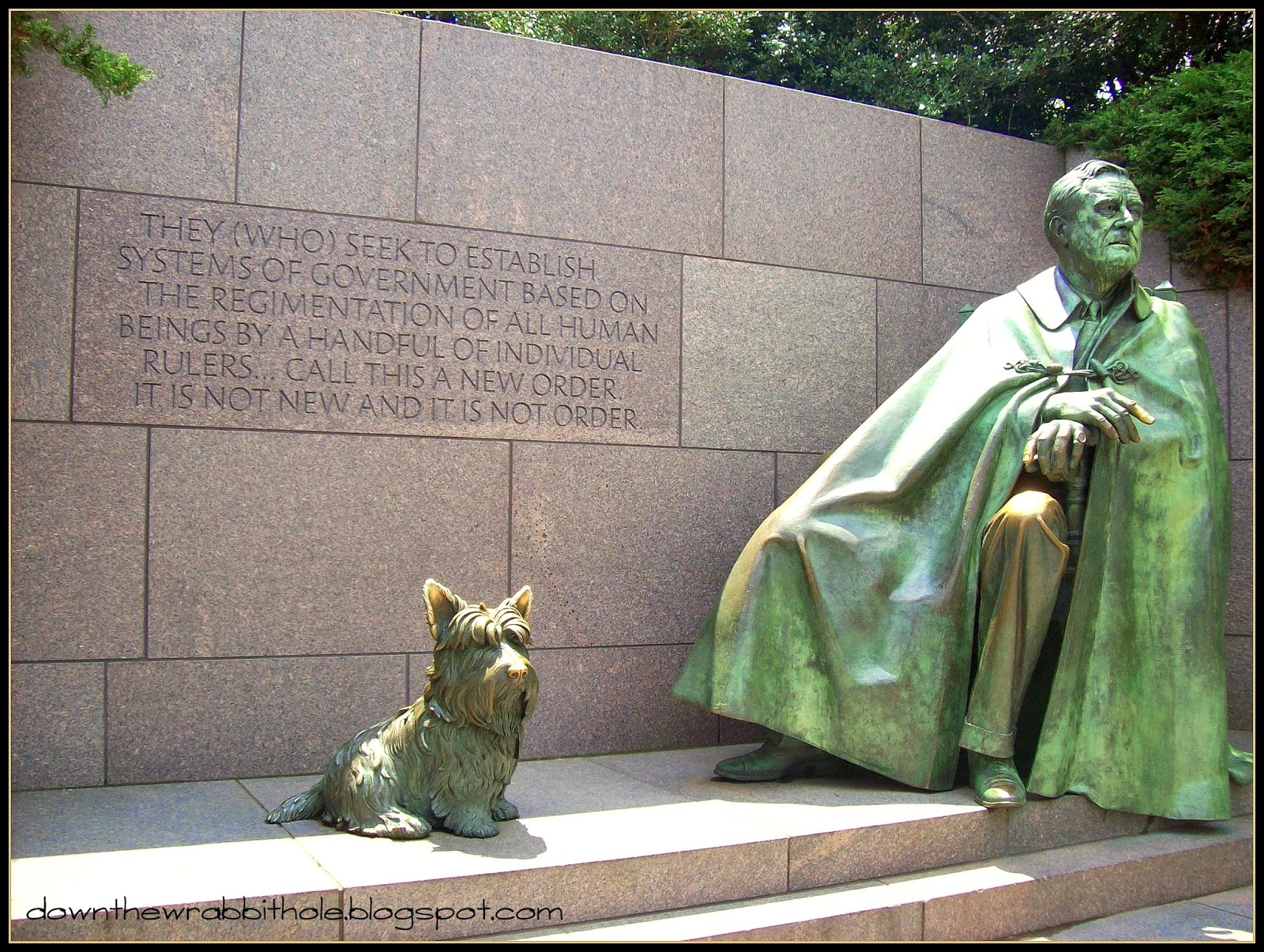 Franklin Memorial Roosevelt Washington Dc