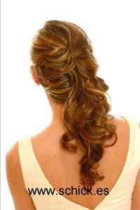 Bonitos peinados semirecogidos de novias 2011 2012 for Imagenes semirecogidos