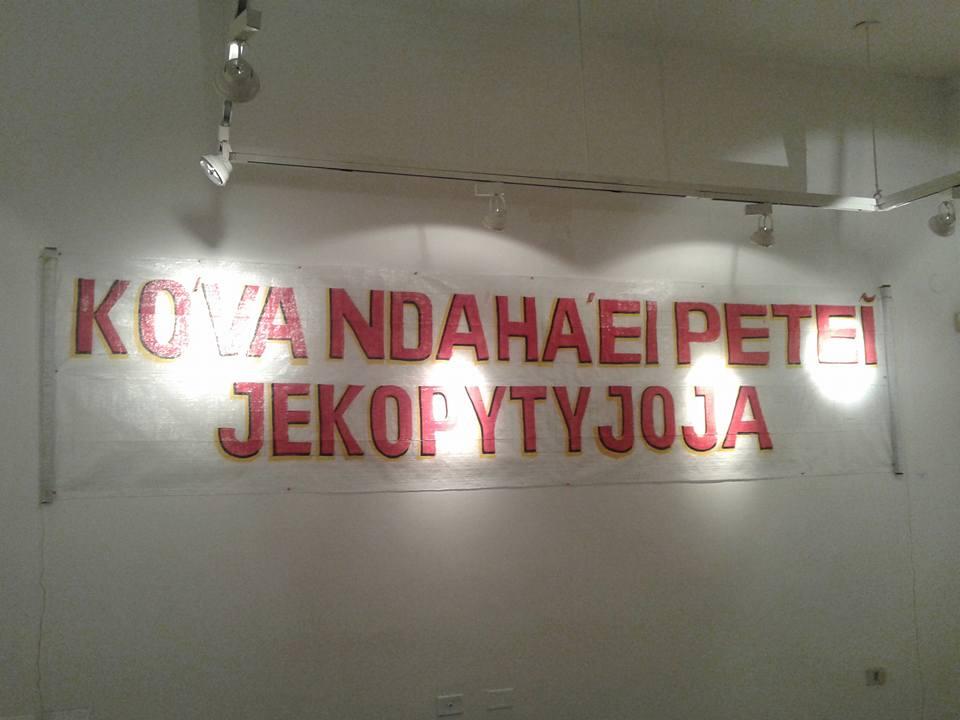 """""""KÓVA NDAHA'EI PETEI JEKOPYTYJOJA"""""""