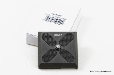Desmond DGZ-1 Gitzo Plate w/ box