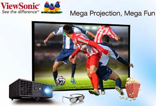 ViewSonic PJD7820HD and Pro8520HD projectors