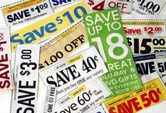 lots and lots of coupons