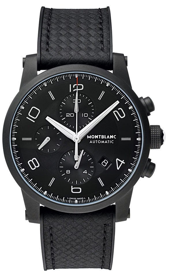 Montblanc TimeWalker Extreme - Swiss made watch.