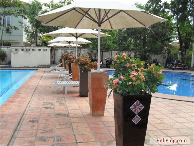 Villa for rent in An Phu 5 bedrooms unfurnished nice pool