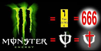 Hubungan Monster Energy Dan Angka 666