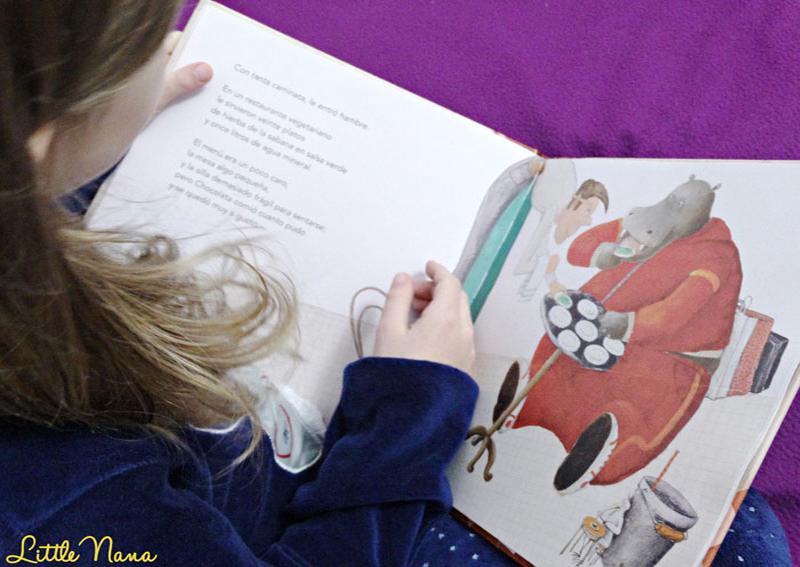 Hoy leemos Chocolata cuento infantiles álbum ilustrado
