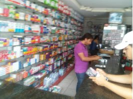 Farmacia Santa Terezinha rua primeiro de Maio