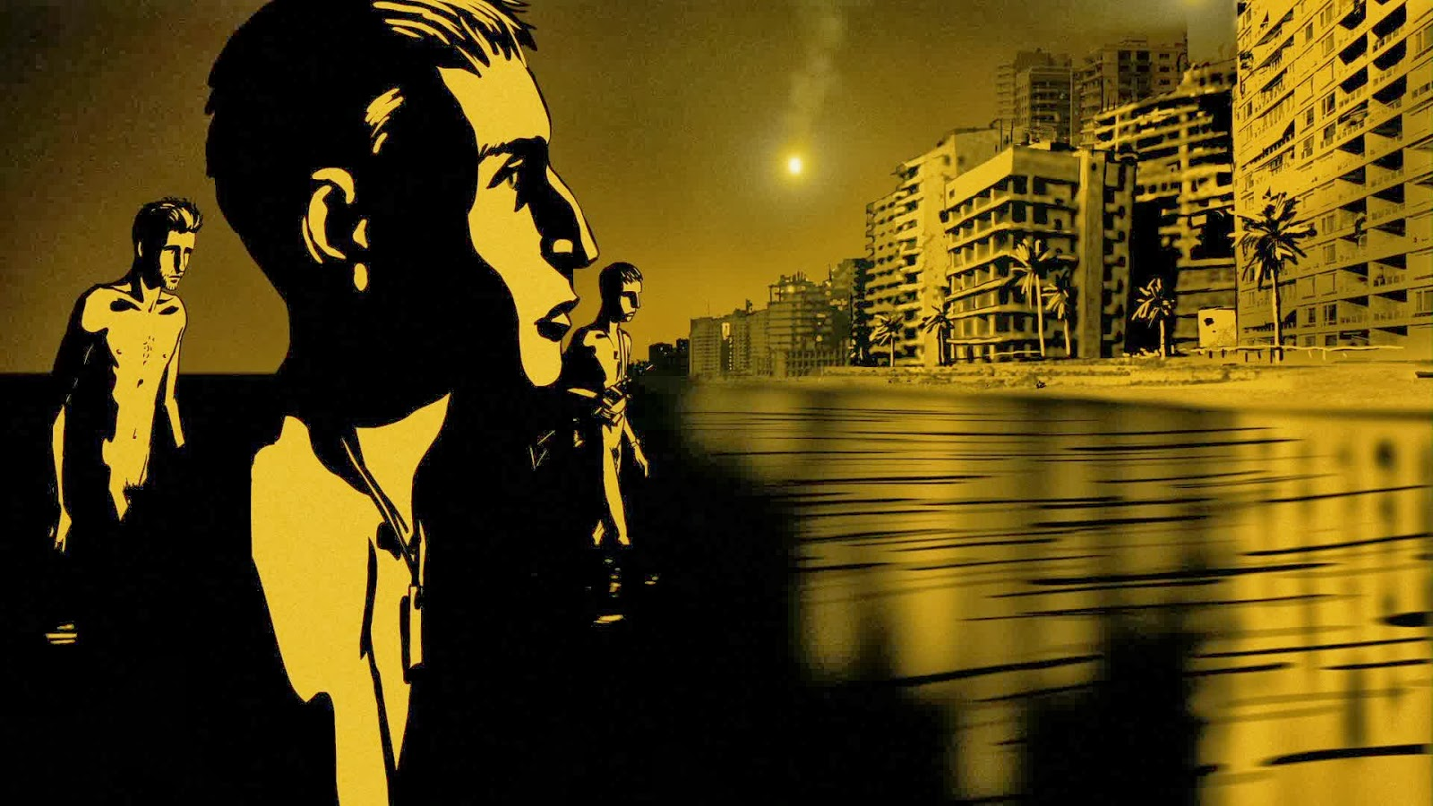 documentary analysis waltz with bashir Director ari folman's animated, quasi-documentary waltz with bashir follows the filmmaker's emotional attempt to decipher the horrors that unfolded one night in september of 1982, when christian militia members massacred more than 3,000 palestinian refugees in the heart of beirut as israeli.