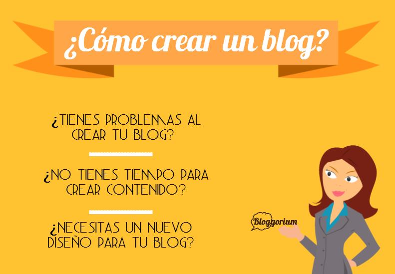 Cómo crear un blog