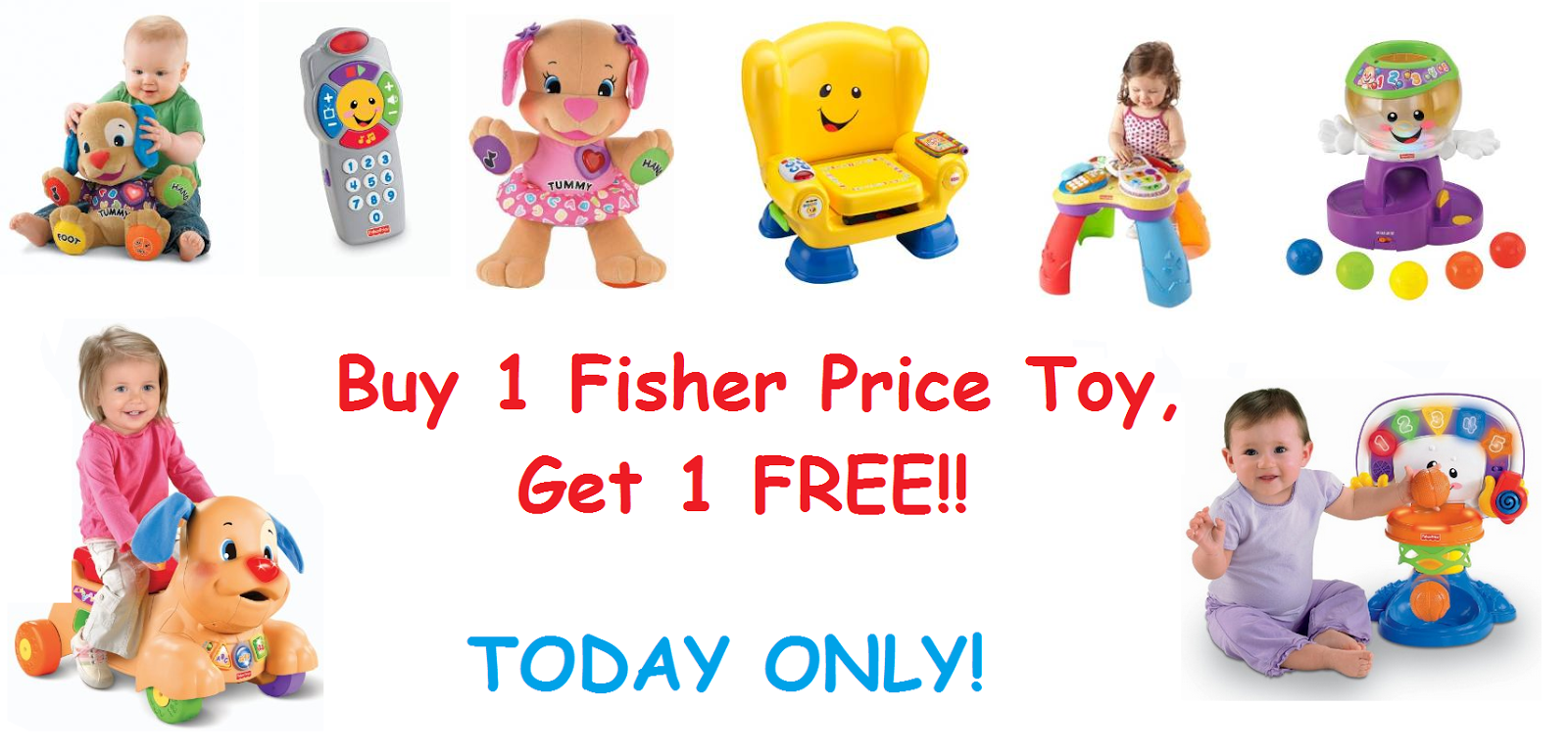 Buy One, Get One Free Fisher Price Laugh & Learn