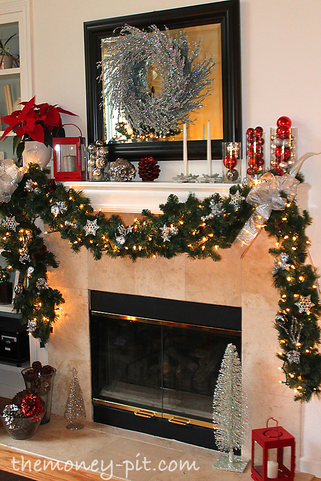Christmas 2012 home tour the kim six fix for Casa mantel