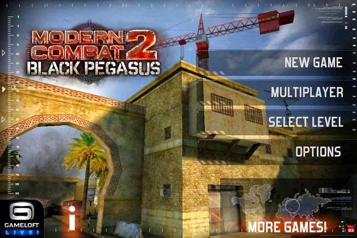 modern combat 2 black pegasus apk download