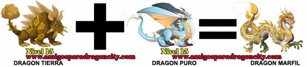 como hacer el dragon marfil de dragon city