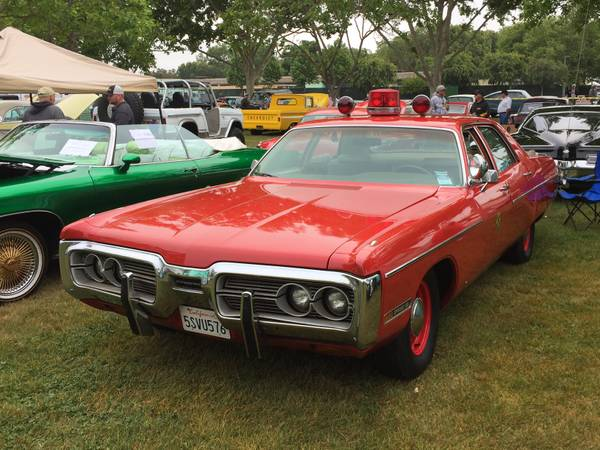 Daily Turismo Sffd Fire Chief Car 1972 Plymouth Fury Iii