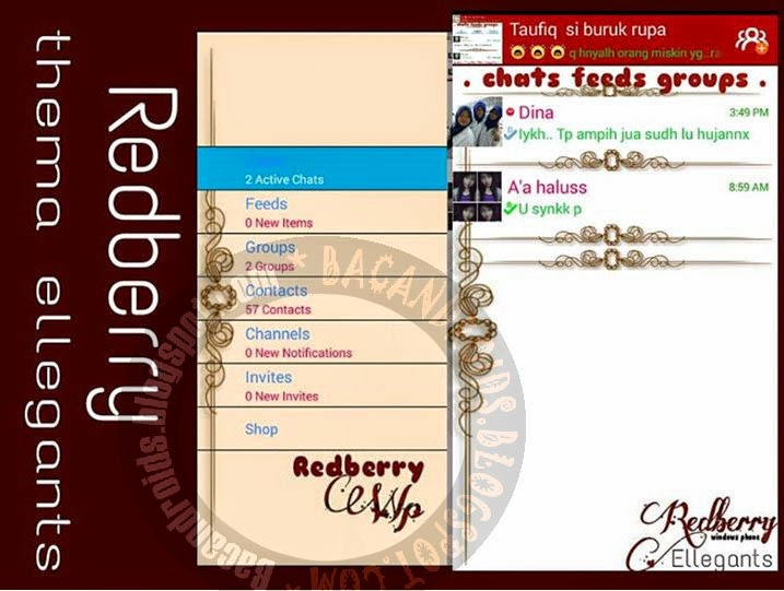BBM2 Mod Windows Phone Versi 2.5 apk free
