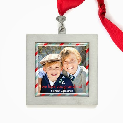 image Zinc Ornament - Best Selling Triple Merry Mist
