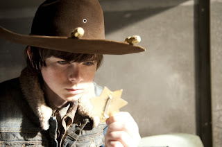 Chandler Riggs in The Walking Dead
