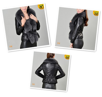 Fashion Sheepskin Jacket for Women