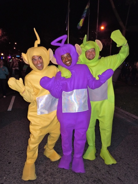 Teletubbies West Hollywood Halloween Carnaval