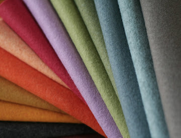 13 NEW COLORS OF WOOL FELT!