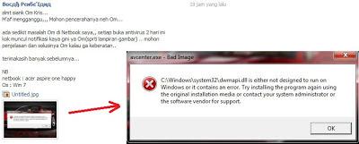 Dwmapi.dll Is Either Not Designed To Run Windows