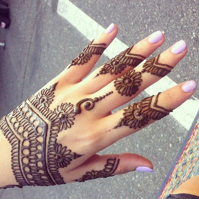 Mehndi Designs For Upper Hands : My mehndi art perfact authentic dye designer