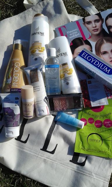 ELLE torba pełna kosmetyków, czyli wyjątkowy zestaw na wakacje