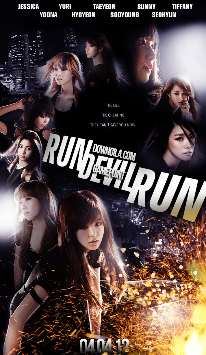 downgila SNSD girl's generation poster taeyon yoona